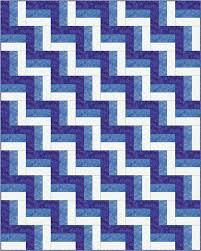 Rail Fence Quilt Pattern Designs / Easy Beginner Quilt Pattern &  Adamdwight.com