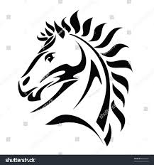 tribal horse head silhouette. Perfect Silhouette Tribal Horse Head Tattoo  Vector Illustration Intended Tribal Horse Head Silhouette S