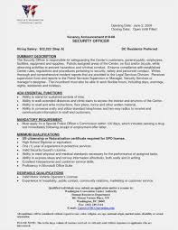 Sample Security Guard Resume No Experience Format Security Guard