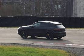 2018 porsche release date. contemporary date 2018 porsche cayenne coupe spy shots  turbo on release date