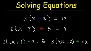 how to solve linear equations with paheses on both sides algebra