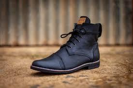 men s combat boots texas black leather navablack03