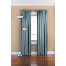 stunning enticing blue mint green curtains and laminate floor plus awesome standing lamp