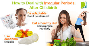 When Do Periods Resume After Child Birth by How To Deal With Irregular Periods  After Childbirth ...