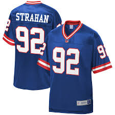 Michael Royal Pro York Nfl Line Strahan Giants Jersey New Men's Player Retired