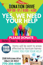 Shoe Drive Flyer Template Church Donation Drive Flyer Template Or Social Media Post