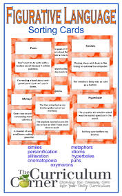 similes and metaphors this product contains worksheets that ask figurative language cards
