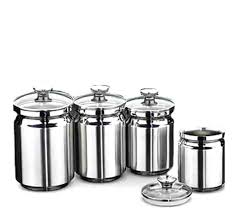 stainless steel canisters with glass lids 4 piece stainless steel canister set with glass lid glass canister set with stainless steel lids