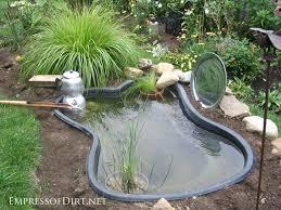 garden pond ideas. Modren Garden Pond Form Inground Garden Pond In Garden Ideas