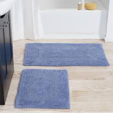 Lavish Home 2 Piece Reversible Bath Rug Set Reviews Wayfair