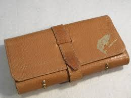 common sense pigskin leather fly wallet unused