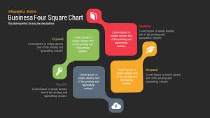 Four Square Chart Template 4 Square Powerpoint Template Pptworld