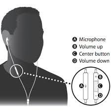 apple earpods. apple earpods remote control buttons