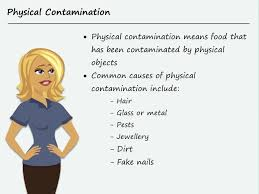 Food Safety Course Answers Physical Food Contamination