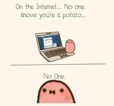 Kawaii Potato on Pinterest | Kawaii, Potatoes and Death Note via Relatably.com