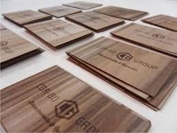 wooden business cards wooden business cards with laser engraving microwood