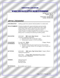 Entry Level Resume Sample No Work Experience. Entry Level Resume ...