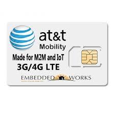 AtT Vending Machines Custom 48GB Per Month Monthly For 48 Months SIM Data PlanATT M48M SIM CARD