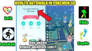 How to autowalk in Pokemon go in Hindi | DeFit not working!! | New Pokemon  go update.. - YouTube