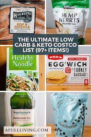 the ultimate costco keto and low carb