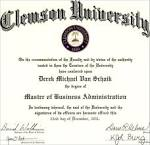 Business Administration Masters