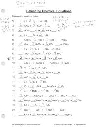 chemistry balancing chemical equations worksheet answer key simple way to balance how for beginners an