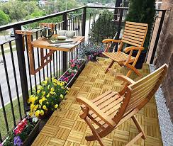 balcony table chairs