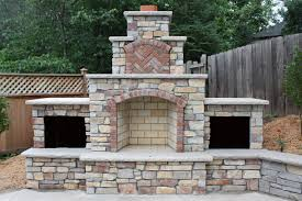 how to build an outdoor fireplace enclosed fire pit stacked stone for fireplace