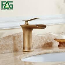 <b>FLG Basin Faucet</b> Waterfall <b>Bathroom</b> Faucets Single handle Basin ...