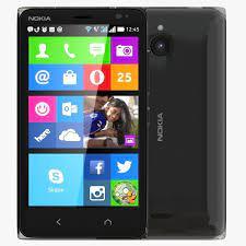 Nokia X2 Dual SIM Black 3D model MAX ...