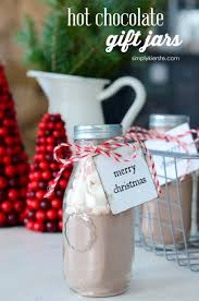 hot chocolate christmas gifts. Exellent Gifts Hot Chocolate Gift Jars Inside Christmas Gifts M