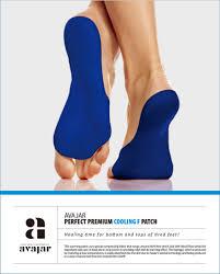 Avajar Perfect Cooling Premium Foot Patch - 5p. - <b>Охлаждающая</b> ...