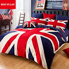 union jack bedspread 100 cotton union jack duvet cover set the union flag pillowcase