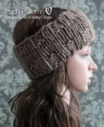 Knit Ear Warmer Pattern Amazing Headband Knitting Pattern Knit Ear Warmer Pattern