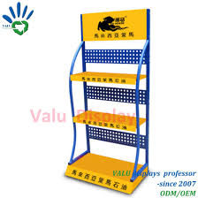 Display Stand Hs Code China Lubricating Oil Metal Display Stand Oil Flooring Display 44