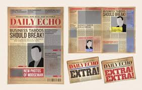 Newspaper Template For Photoshop Newspaper Template Vectors Photos And Psd Files Free Download