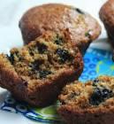 almond wheat germ muffins