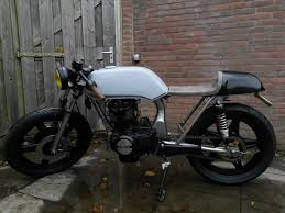 emgo black chrome cafe racer shocks type 4