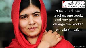 Malala Quotes Gorgeous The Common Good 48 Quotes To Inspire Us Institute For Educational