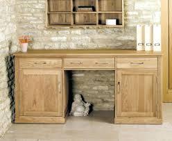 hidden office furniture. Appealing Oak Large Hidden Office Twin Pedestal Desk Minimalist Home Computer Furniture