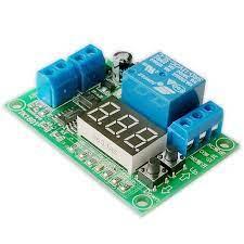 3 haneli ekran zaman röle modülü tetik başlatma zamanlaması stop dinamik  ekran düğme ayarı|Integrated Circuits
