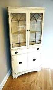 small corner hutch dining room dressers alluring corner dining room hutch cabinet china full size of