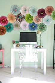 wall craft ideas from paper stained origami