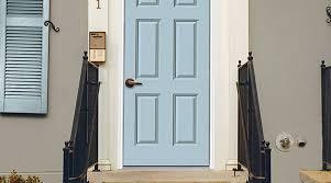 Light Blue Front Door Exterior Inspiration Front Door Paint Colors Sherwin