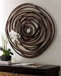 palecek wood swirl wall decor wood