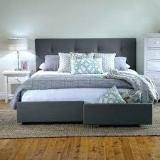 Platform Bed With Storage King King Bed Storage King Bed Frame With