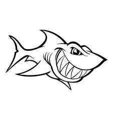 Haaien Kleurplaat Kleurplaat Voor Kinderen
