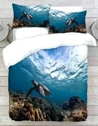 sea turtle comforter sets sea turtle bedding turtle ocean bedding set