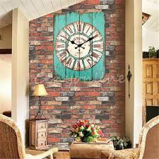 large office wall clocks. large wall clocks retro vintage rustic clock shabby chic home office coffeeshop bar decor decoration e