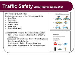 New Jersey Traffic Safety Learning Progression Component Pre ...